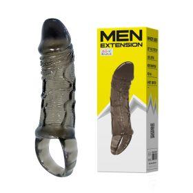 MEN EXTENSİON 2 cm Uzatmalı Realistik Penis Kılıfı