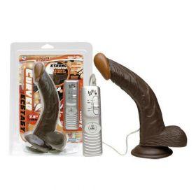 Curved Ecstasy Z Realistik Zenci Penis Vibratör 19 cm
