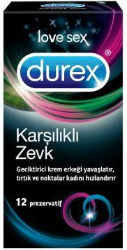 Durex Karşılıklı Zevk 12'li Prezervatif