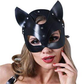 Fetish-Dream-BDSM-Fantezi-Kedili-Maske-Siyah