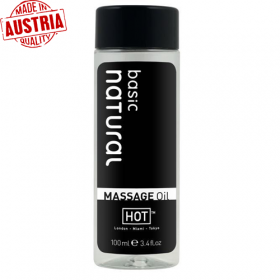 HOT Massage Oil Masaj Yağı - Sade 100ml.