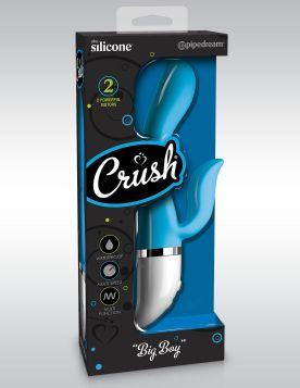 Crush - Big Boy %100 Silikon Tavşan Vibratör 23 cm