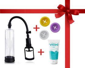 Penextender® XL Penis Pompası 20 cm + Yedek Giriş + Krem Paketi