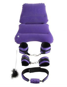 PipeDream Fetish Fantasy Series Purple Pleasure BDSM Set