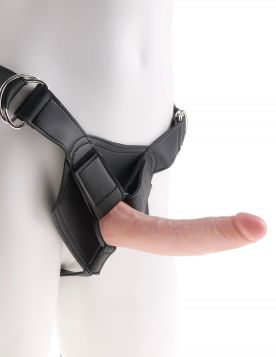 PipeDream King Cock Strapon Harness Takma Penis 18 cm