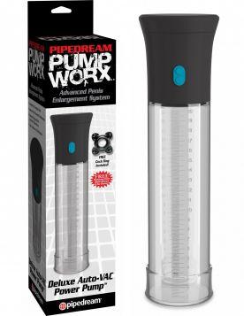 PipeDream Pump Worx Deluxe Otomatik Penis Pompasi