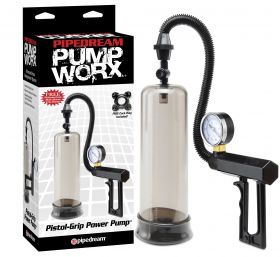 PipeDream Pump Worx Pistol-Grip Power Penis Pompası