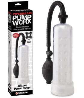 PipeDream Pump Worx Silicone Power Penis Pompası