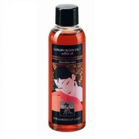 Shiatsu Luxury Body Oil Masaj Yağı - Çikolata & Nane Aromalı