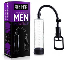 Men Powerup Tetikli Penis Pompası 20 cm