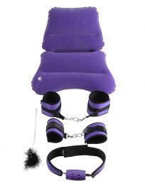 PipeDream Fetish Fantasy Series Purple Pleasure BDSM Set