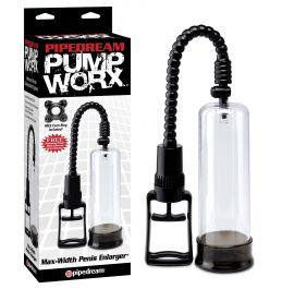 PipeDream Pump Worx Max-Width Penis Pompası