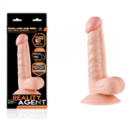 Reality Agent Çift Dokulu 15 cm Dildo