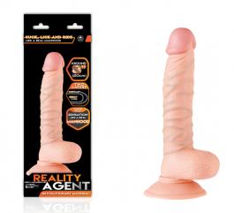 Reality Agent Çift Dokulu 20 cm Dildo