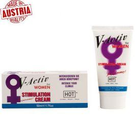Hot V-Activ Vajina Kremi