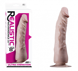 Ultra Realistic Şarjlı Penis Vibratör M3 - 20 cm
