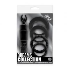 Dreams Collection Çiftlere Özel Penis Halkasi & Vibratör Seti