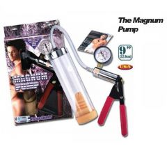 Magnum Pump Basinç Göstergeli Penis Pompasi