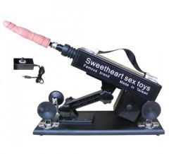 Machine Gun Vibratörlü Otomatik Seks Makinesi