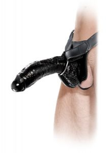 PipeDream Extreme Hollow Takma Penis (Strapon) 25 Cm - Siyah