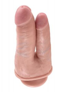 PipeDream King Cock Çift Başlı Realistik Penis 18 Cm