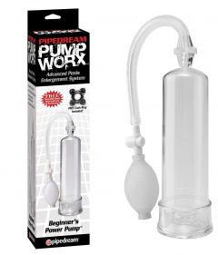 PipeDream Pump Worx Beginner's Power Penis Pompasi